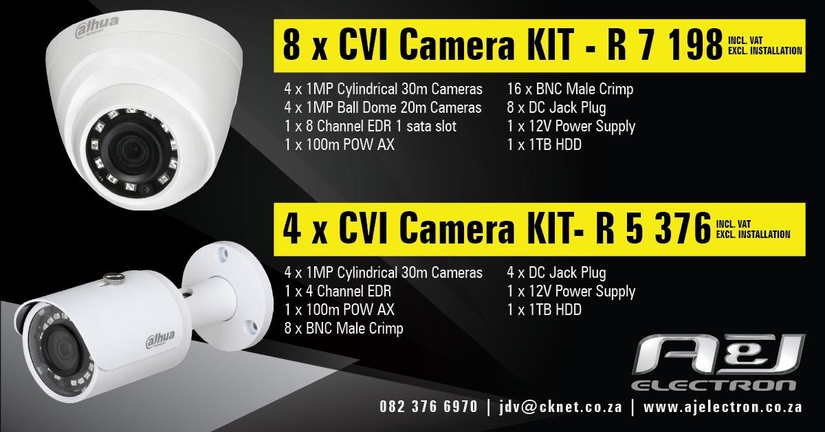 A&J Electron_8&4 x CVI Camera KIT-1200 px